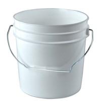 1 Gallon White Bucket