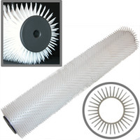 """18"""" Spiked Roller - 13/16"""" Supersharp Tines"""
