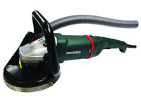 "Metabo Full Dustless Kit with 9"" w24-230 angle grinder and shroud."