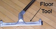 Complete Floor Tool and Wand Ruwac