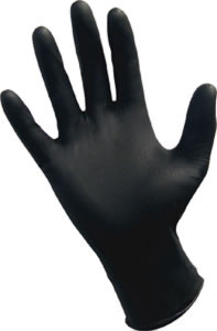 Black Nitrile Powder Free Glove 6mil