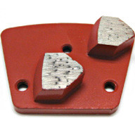 designed for machines that are able to rotate in both left and right directions. This gives the operator the flexibility of a beveled smooth grinding segment when rotated in one direction. And an aggressive arrow segment when machine rotation is reversed.