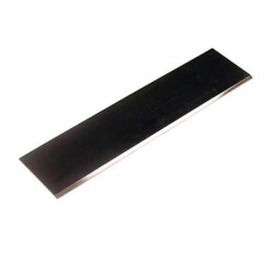"Heavy Duty Thick Floor Scraper Blades for ride on Machines. 3"" x 12"" Floor Scraper Blade ideal for glue and mastic removal."