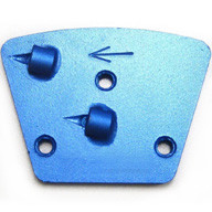 The two 1/4 round PCD is an excellent choice when removing heavy coatings.