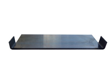 "12"" Carpet Blade for removal of carpet with a ride on scraper or skid steer attachment."