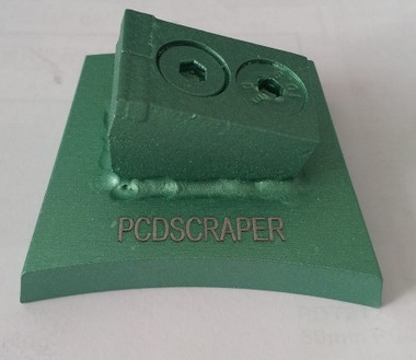 Bedrock Exclusive PCD Scraper. Remove tile mastic, glues, patch with ease with these PCD scrapers. No more carbide tooling that has to be turned over and over.
