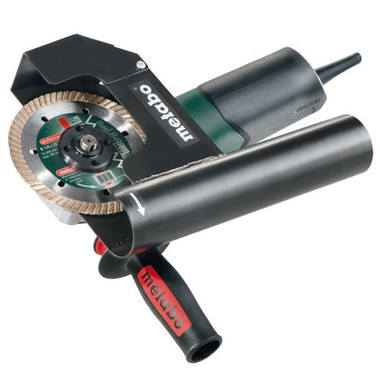 Metabo Tuck-pointing grinder kit. Comes with the dust hood and grinder