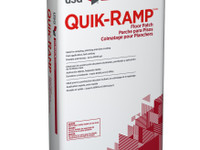 DUROCK™ BRAND QUIK-RAMP™ FLOOR PATCH A trowel-able, high alumina cement-based floor patch and skim coat developed for today's most demanding floor prep situations.