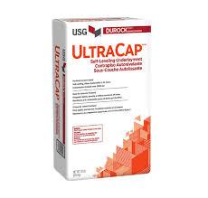 DUROCK™ BRAND ULTRACAP® SELF-LEVELING UNDERLAYMENT High strength Portland cement-based poured underlayment.
