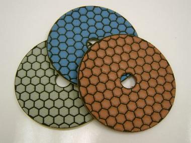 """4"""" Octagon Resin Polishing pads. Premium finish"""