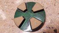 4 seg 60/80# ceramic transitional for extreme hard concrete