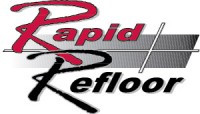 Rapid Refloor is a 100% solids, two component, low viscosity structural polyurea/polyurethane hybrid intended for use in repairing cracks and small surface defects.