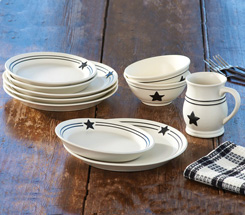Country Star Dinnerware