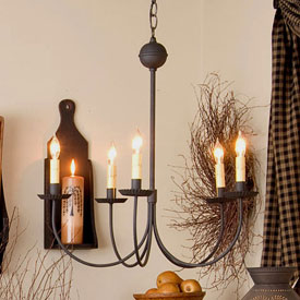 Primitive And Country Style Lighting For Your Home Crafted By Hand Made In The Usa