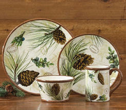 Walk in the Woods Dinnerware & Country Dinnerware - Country Kitchen Home Decor