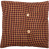 "Patriotic Patch 16"" Fabric Pillow Reverse"