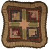 "Tea Cabin 16"" Quilted Pillow"