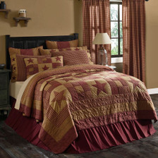 Ninepatch Star Luxury King Quilt
