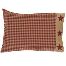 Ninepatch Star Pillowcase Set