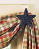 Black Star Curtain Hooks