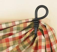 Forged Loop Curtain Hooks