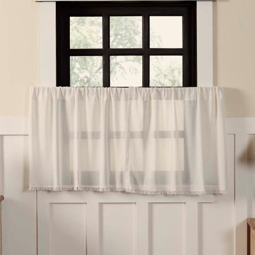 Tobacco Cloth Antique White Tier Set - 24 x 36