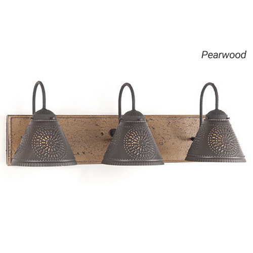 Crestwood Vanity Light in Pearwood