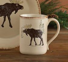 Rustic Retreat Moose Mug