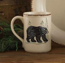 Rustic Retreat Bear Mug