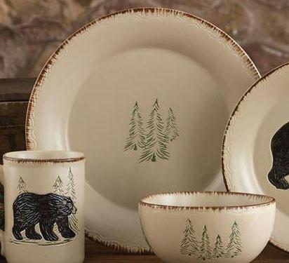 Rustic Retreat Dinner Plate