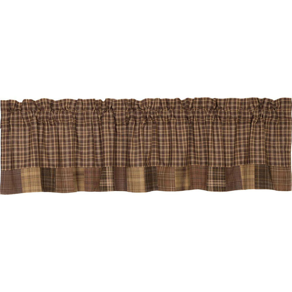 Prescott Block Border Valance By Vhc Brands