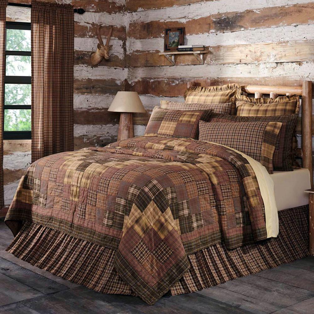 Prescott Luxury King Quilt By Vhc Brands