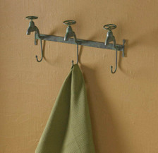 Water Faucet Triple Hook