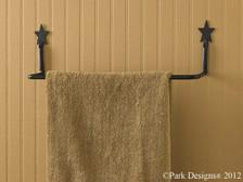 """Black Star 16"""" Towel Bar"""