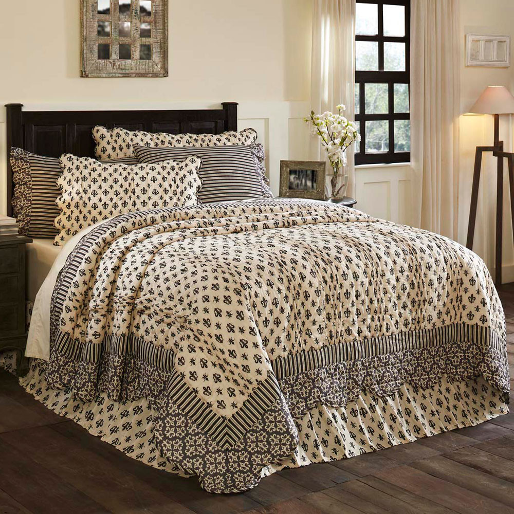 Elysee King Quilt By Vhc Brands