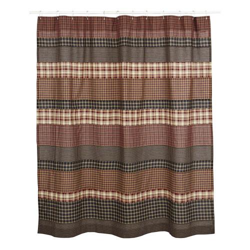 Beckham Shower Curtain Flat