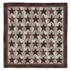 Abilene Star Luxury King Quilt Flat