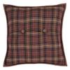 """Abilene Star 16"""" Quilted Pillow Reverse"""
