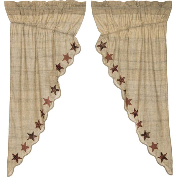 Abilene Star Prairie Curtain Set