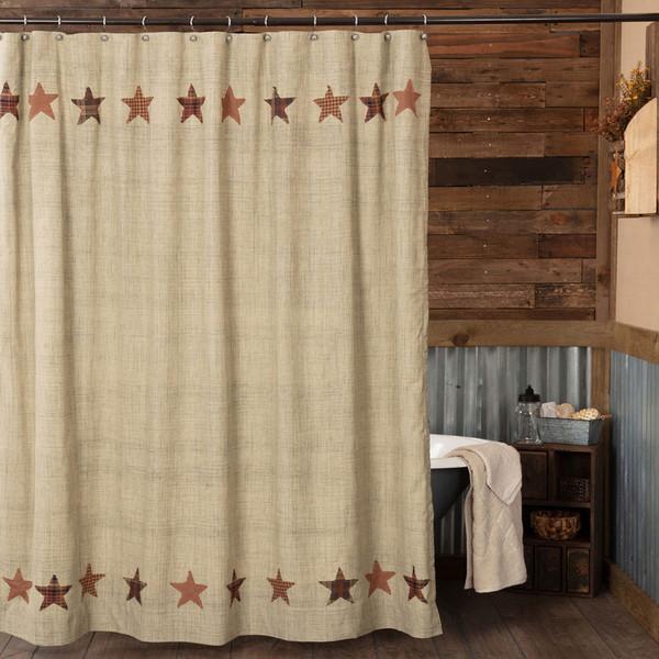 Abilene Star Shower Curtain