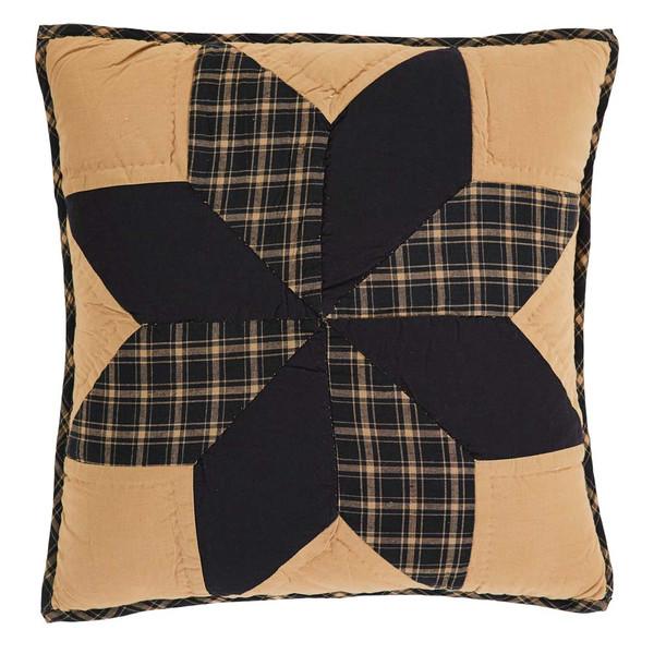 """Dakota Star 16"""" Quilted Pillow"""