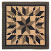Dakota Star Luxury King Quilt Flat