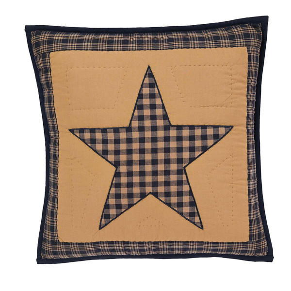 """Teton Star 16"""" Quilted Pillow"""