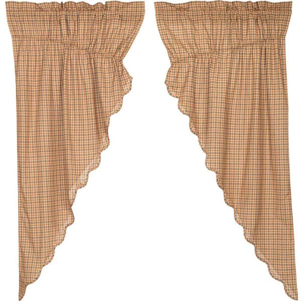 Millsboro Prairie Curtain Scalloped Set