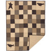 Kettle Grove Quilted Throw Flat