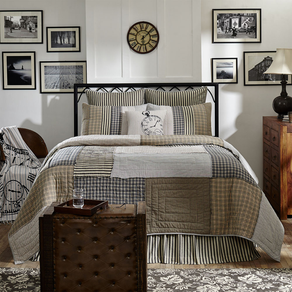 Ashmont Queen Quilt By Vhc Brands