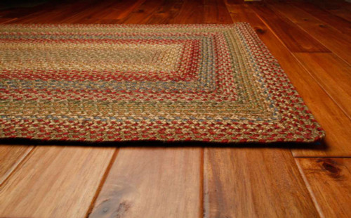 Azalea Braided Jute Rectangle Rug