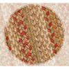 Harvest Braided Jute Oval Rugs - Closeup