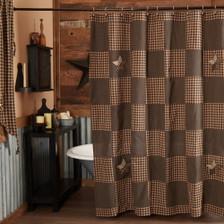 Farmhouse Star Shower Curtain