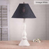 Davenport Lamp in Vintage White